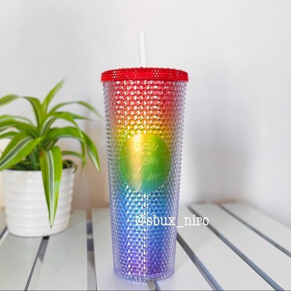 Starbucks Rainbow Studded Tumbler